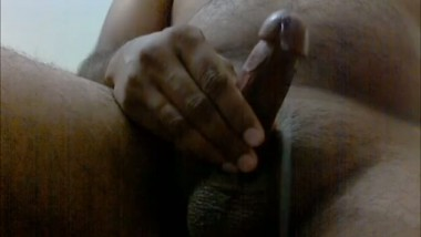 Desi horny boy playing with dick