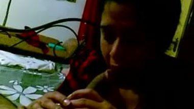 Hot bhabhi sex and blowjob with her devar