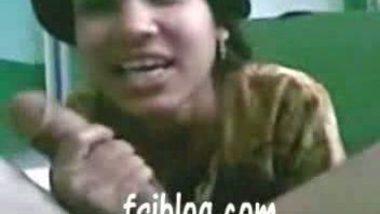 Desi bhabi giving hot blowjob to her neighbor