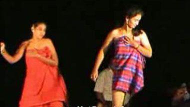Telugu Hot Girls Night stage dance 29