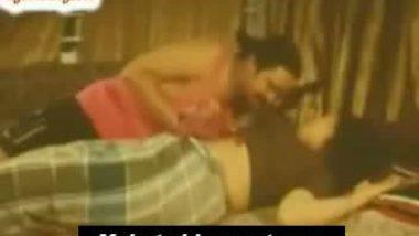 Chubby tamil masala aunty sleeping on bed