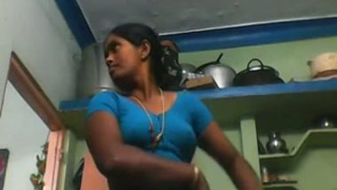 South Indian aunty caught by devar during changing