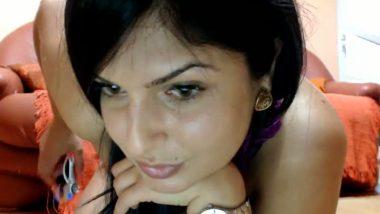 NRI doing dirty stuff on webcam