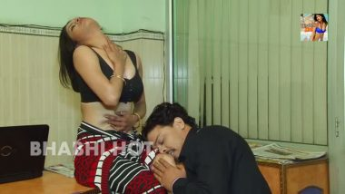 Bollywood masala clip bhabhi romance with boss