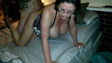 Big boobs NRI aunty hardcore home sex with neighbor