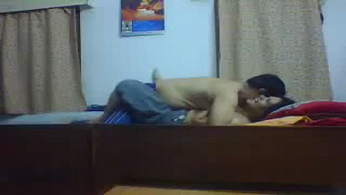 Self made home sex video of mature Orissa couple