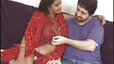 Stripped Indian Honey In A Threesome