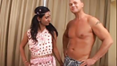 Hairy Mature Indian Aunty Sucks Fucks and Creampied