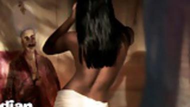 Dark Skin Tantric Kamasutra Indian Babe Amisha