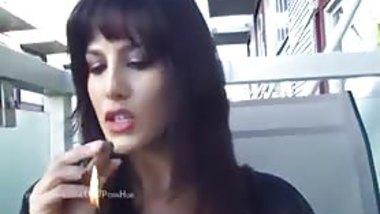 Indian Pornstar Sunny Leone likes Smoking Cigars