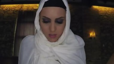 Arab Chick Blows Big Dicked Rich Guy For Some Cash