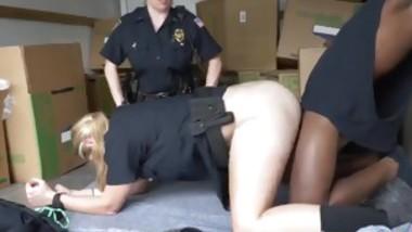 Horny white milf black pound first time Black suspect taken o