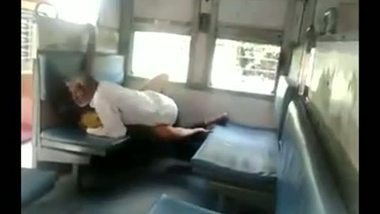 Indian maid getting fucked by owner in train