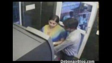Desi teens sex in an ATM center