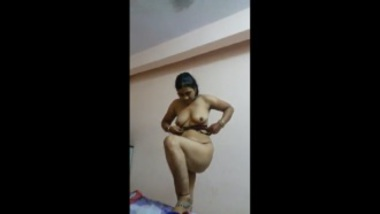 Indian Call Girl Getting Ready After The Sex