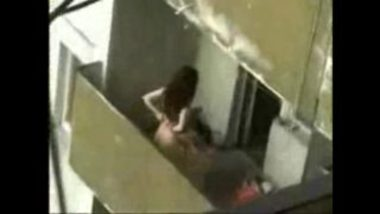 Young Girl Caught Having Erotic Sex In Terrace