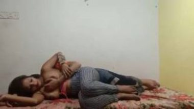 Sexy Bengali Girl With Food Delivery Guy