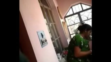 Desi Aunty Caught Walking Nude At Home