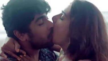 Actress Neha Khan Hot Kiss
