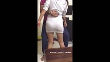 Famous Harshita in transparent dress dancing with lucky boy