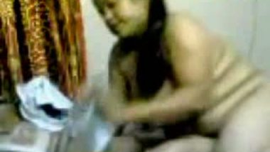 Hot Indian Girlfriend Sucking Penis After Losing Bet