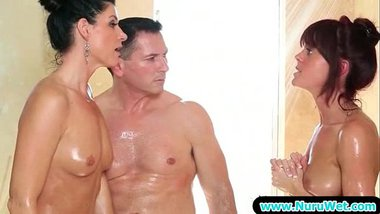 Amazing Sensual Sex With Nuru Gel From Nuru Massage 18