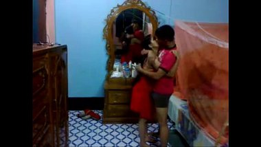 Honeymoon Indian Couple In Their Bedroom Sucking And Fucking