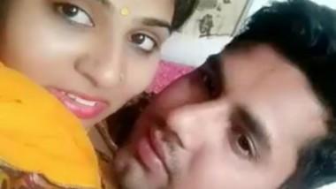 NEWLY MARRIED BHABHI TONGUE SUCKING KISS