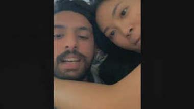 Paki Guy Kissing With thai Girl