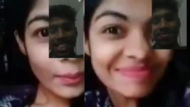 Beautiful Bd Girl Teasing Bf On Video Call