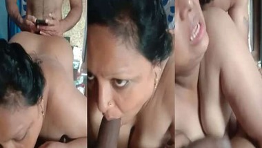 hardcore Indian threesome sex video leaked online