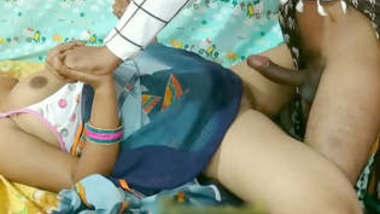 Indian neighbor's hot wife painful saree sex