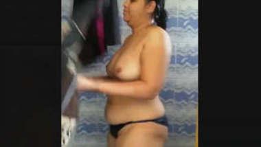 Bahbhi bathing Video Record By Hubby