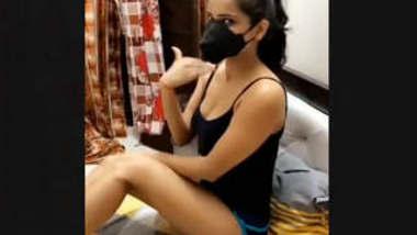 Sexy Desi Girl Bored In Lockdown