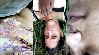 Dehati pussy fucking outdoors video scandal