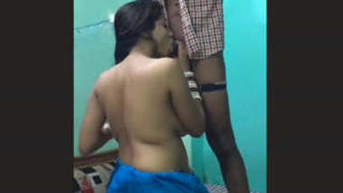 Desi Hot Couple Blowjob and Fucking