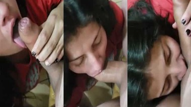 Hot sexy Indian blowjob video for the first time