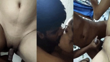 Desi couple naughty sex at home sex scandal video