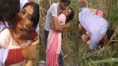 Village Bhabhi outdoor sex video shared online