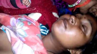 Sleeping bhabhi nude captured by husband