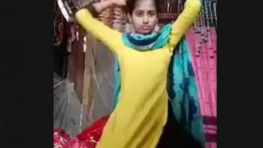 Desi Cute Village Girl Video For Lover When Sister Was Sleeping