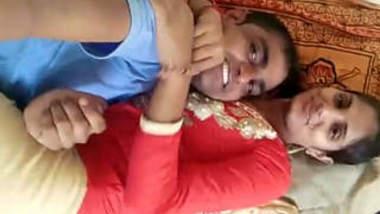 Desi couple enjoying sex in Bedroom