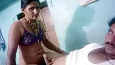 Horny Indian Wife Riding Hubby Dick