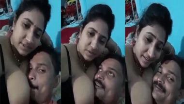 Busty Bhabhi home sex video MMS scandal