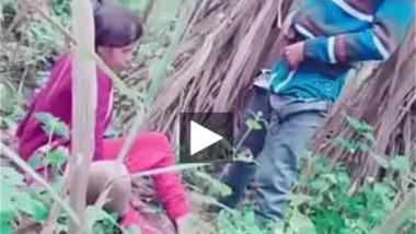 Outdoor Desi slut sex got caught on cam