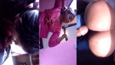 Indian teen fuckeddoggystyle by her boyfriend
