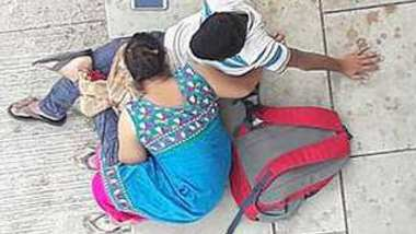 Desi village bhabi suck her devar dick outdoor, spy video
