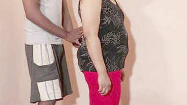 Desi bbw aunty show her nice body part 4