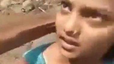 Indian outdoor field blowjob chodan sex
