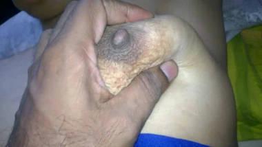 indian wife aradhana boobs ass show press pull fuck cum 2